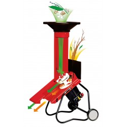 Kombinovaný drvič záhradného odpadu Solo by AL-KO TCS 2500 Duotec - 119684